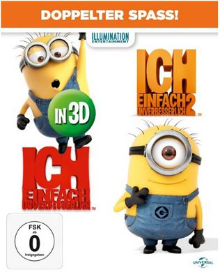 Ich   Einfach unverbesserlich 1&2 auf Blu ray ab 14,97€   als 3D Blu ray ab 20,61€