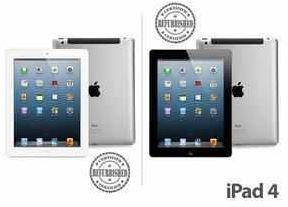 iPad 4 mit 32GB in schwarz oder weiß (refurb.) für 405,90€