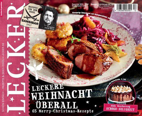 lecker Jahresabo vom Lecker Koch Magazin für effektiv 5€ dank 30€ Gutschein Prämie