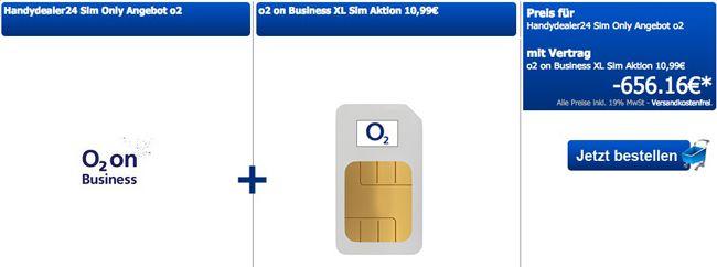 o2 Business XL o2 Business XL All Net Flat mit 10GB Datenflat für Selbstständige effektiv nur 10,99€ monatl.    Update!