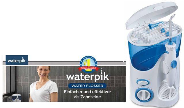 WATERPIK WP 100   Ultra Water Flosser Munddusche mit 6 Aufsätzen für 69,95€