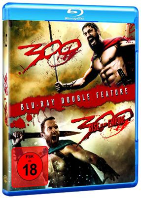 300 & 300   Rise of an Empire Fantasy Blu ray für 9,99€ inkl. Versand