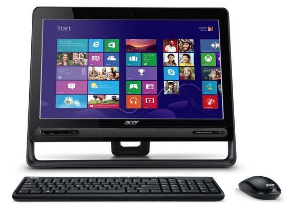 Acer Aspire Z3 605 23 Zoll All in One PC (1,9GHz, 4GB Ram, 500GB HDD, Windows 8) für 399€