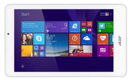 Acer Iconia Tab 8 W W1 810   8 Zoll WLAN Tablet mit 32GB und Windows 8.1 für 115,89€