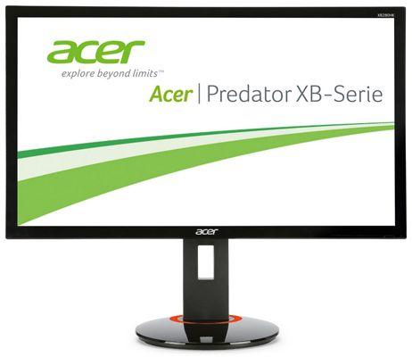 Acer Predator XB280HK Acer Predator XB280HK   28 Zoll Ultra HD 4K UHD Gaming Monitor mit G Sync für 504,99€
