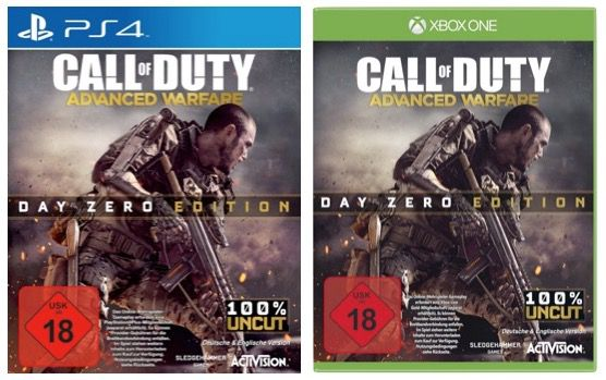 Advanced Warfare Call of Duty: Advanced Warfare (PS4 und Xbox One) für 25,97€