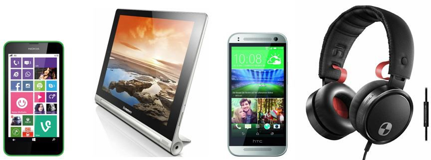 Amazon Blitzangebot8 Lenovo Yoga 10 25,4 cm (10 Zoll) Tablet PC für 199€ bei den 78 Amazon Blitzangeboten