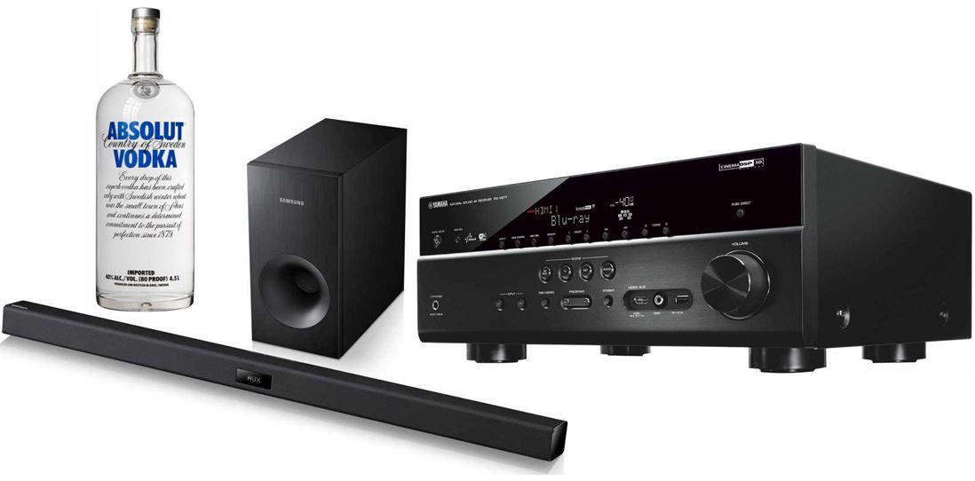 Yamaha RX V677 WiFi Netzwerk AV Receiver mit 4K Upscaling für 388€ bei den 31 Amazon Blitzangeboten ab 19Uhr