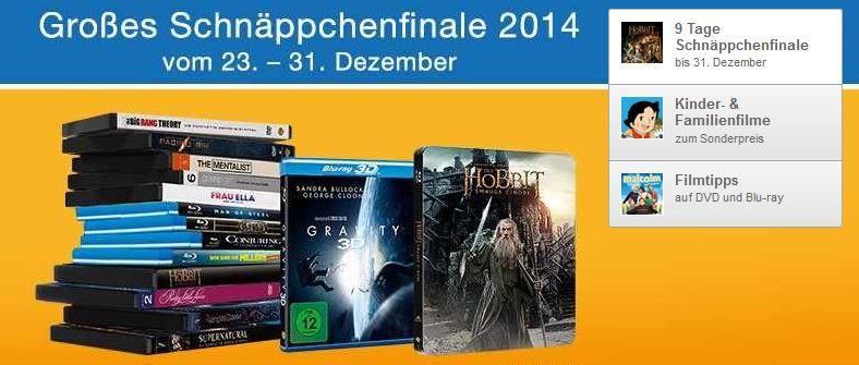 Amazon DVD 3 Blu rays für 18€ und mehr Angebote bei dem Amazon DVD und Blu ray Schnäppchenfinale 2014   Update
