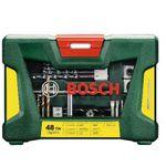 BOSCH V-Line – 48-tlg. TIN Bohrer und BIT SET für Metall Stein & Holz + Magnetstab für 15€
