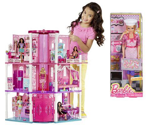 Barbie 3 stöckige Traumvilla Barbie 3 stöckige Traumvilla + Barbie Ich wäre gern Plätzchenbäckerin statt 190€ ab 84,15€