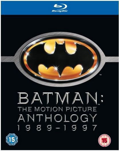 Batman: The Motion Picture Anthology auf Blu ray für 11,01€ (statt 17€)