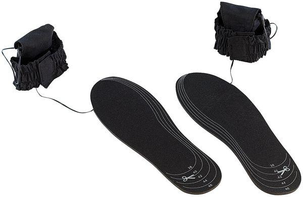 Beheizbare Schuheinlagen von infactory für 7,90€