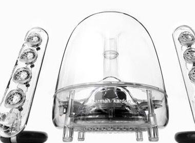 Harman Kardon SoundSticks III   2.1 Lautsprechersystem für 107,31€ (statt 149€)