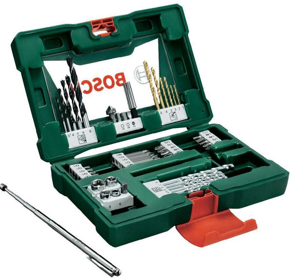 Bosch BOSCH V Line   48 tlg. TIN Bohrer und BIT SET für Metall Stein & Holz + Magnetstab für 15€