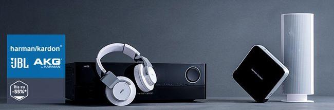 AKG, JBL und Harman Kardon Sale bei brands4friends – günstige Bluetooth Lautsprecher oder Kopfhörer