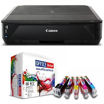 Canon Pixma iP7250 Tintenstrahldrucker mit WLAN + 5 Patronen für 44,99€