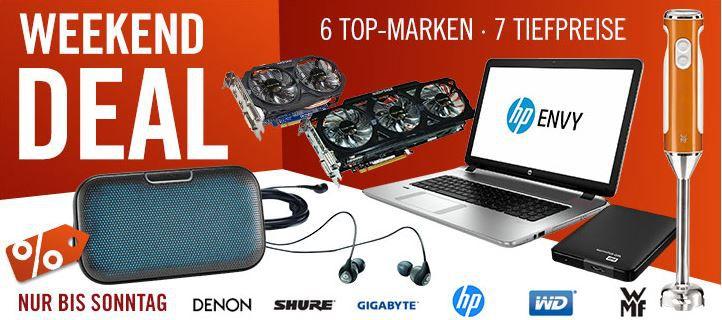 Cyberport HP Envy 17 k101ng Multimedia Notebook i5 4210U statt 790€ für 729€ und mehr Cyberport Weekend Deals