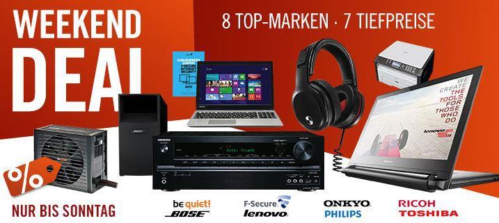 Cyberweekend Onkyo TX NR535 Netzwerkreceiver + Bose Acoustimass 6 Heimkinolautsprecher für nur 699€ statt 999€ und mehr Cyberport Weekend Deals