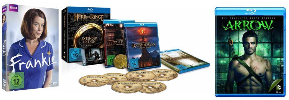 DVD Blu ray2 Arrow   Die komplette erste Staffel ab 14,97€ und mehr bei den Amazon DVD und Blu ray Angeboten der Woche