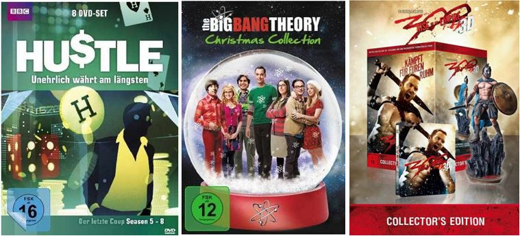 The Big Bang Theory   Christmas Collection ab 7,97€ und mehr bei den Amazon DVD und Blu ray Angeboten der Woche