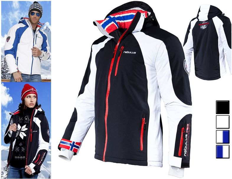 Nebulus Davos Ski Jacken statt 121€ für je 79,95€