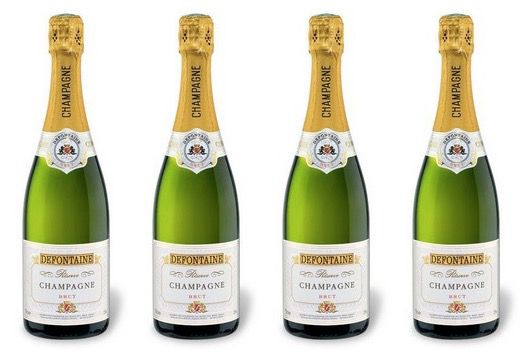 Defontaine Champagner Brut Reserve Defontaine Champagner Brut Reserve für 5€ pro Flasche + 10% Gutschein