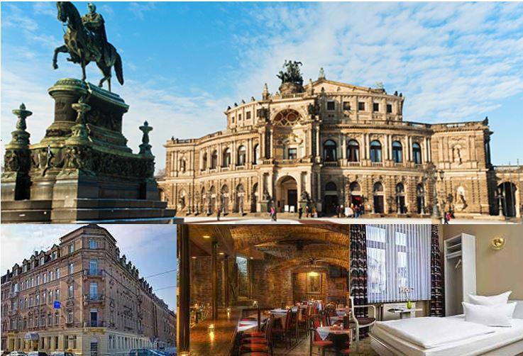 Dresden 2 Personen, 2 Übernachtungen im 3* TRYP by Wyndham Hotel Dresden Neustadt für 89€