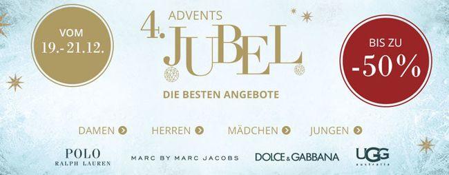 Engelhorn Bis zu 50% Rabatt im Adventsjubel bei engelhorn + 10€ Gutschein