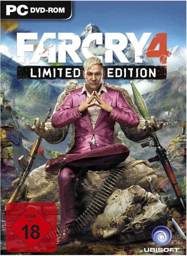 Far Cry4 Fehler? FAR CRY 4   Limited PC Edition für 7,95€