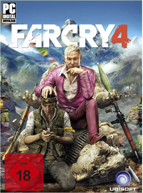FAR CRY 4   PC Download Version statt 54€ nur 39,89€