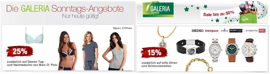 Galeria Kaufhof Angebote