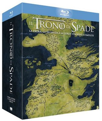 Game of Thrones Staffel 1 bis 3 auf Blu ray für 37,68€