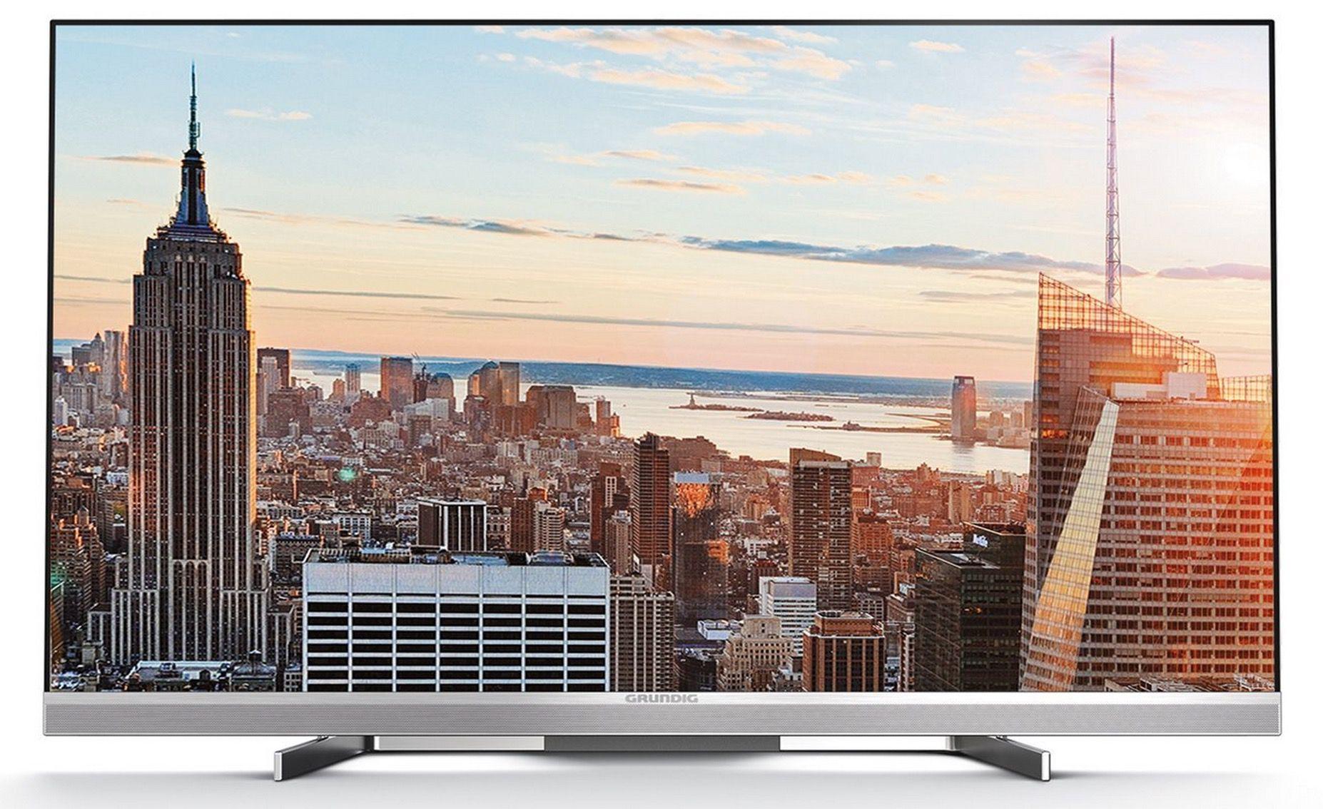 Grundig 55 FLX 9490 SL   55 Zoll 3D 4K UHD Fernseher mit Triple Tuner für 938,90€