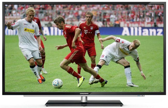 Grundig 55 VLE 984 BL   55 Zoll 3D Full HD LED Fernseher mit Triple Tuner für 544€
