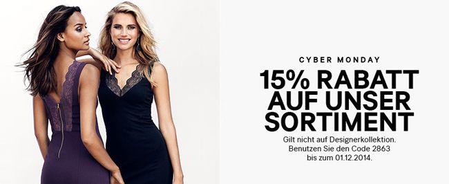 15% Rabatt auf fast alles im H&M Online Shop