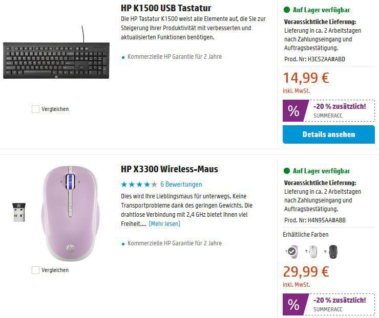 HP S6000 Wireless Lautsprecher für 24€ im HP Summer Sale mit 20 40% Rabatt auf ausgewähltes Zubehör