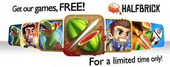 Halfbrick Apps Halfbrick Games für iOS (iPhone, iPad) derzeit kostenlos