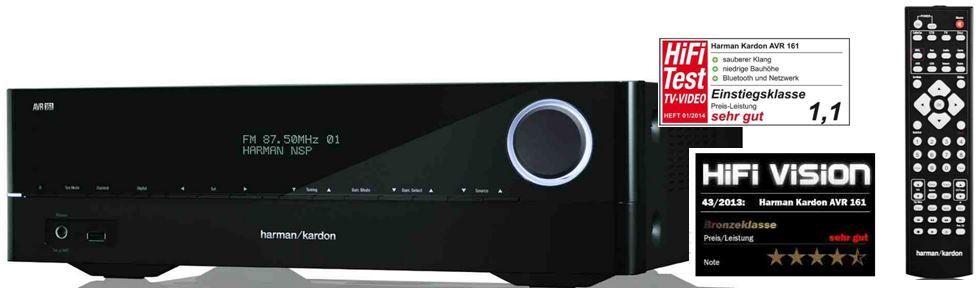 Harman Kardon AVR 161   5.1 Audio/Video Receiver für 266,30€