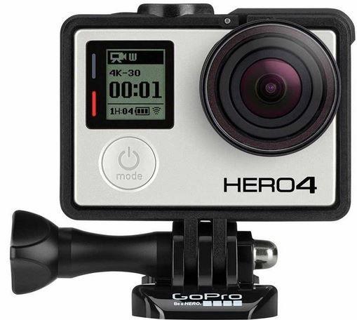 Hero4 GoPro HERO4 Black Edition   4K Actioncam für 388,95€   Update