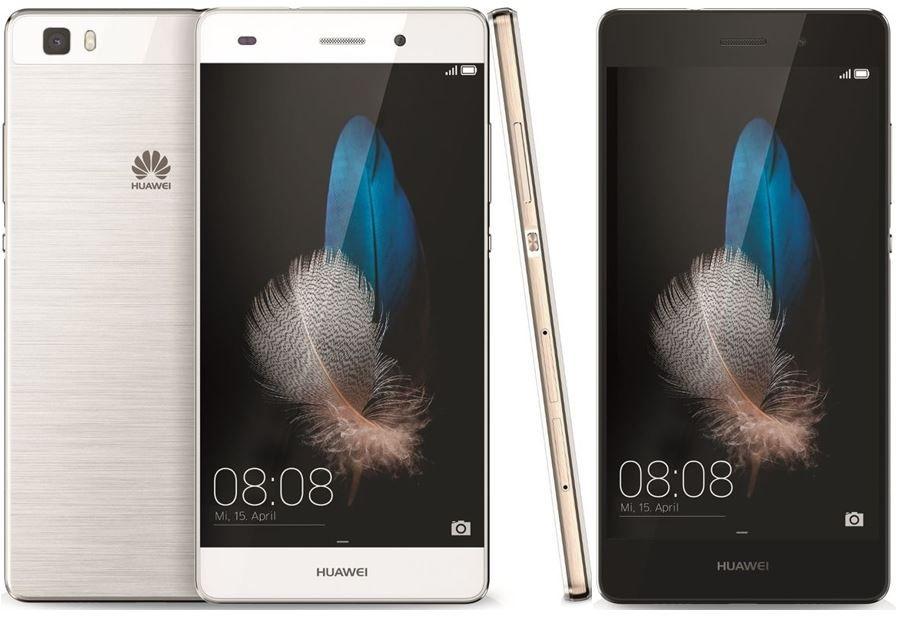 Huawei P8 Huawei P8 Lite   Android 5 Dual SIM Smartphone mit 16 GB für 139,90€ + adidas Fußball