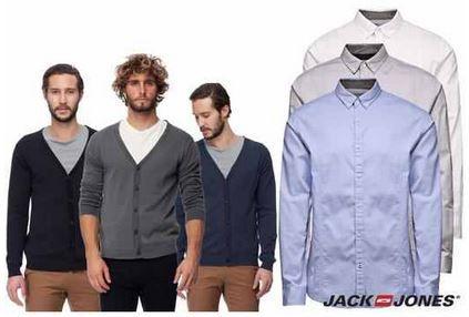 Jack & Jones Camp   Herren Hemden und Strickjacken für je 18,90€ inkl. Versand