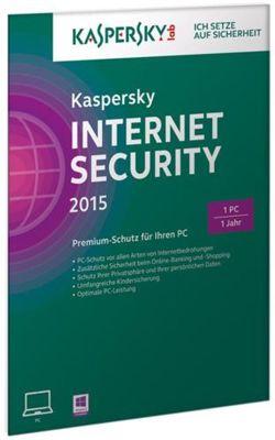 Kaspersky Internet Security 2015 Jahreslizenz für 19,90€
