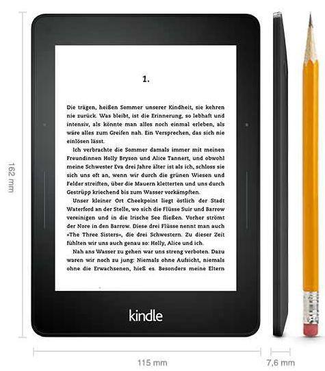 Kindle Voyage   WiFi statt 189€ bei SATURN ab 164€