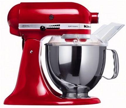 KitchenAid Küchenmaschine Artisan KitchenAid Artisan   Professionelle Küchenmaschine in schwarz für 408,90€   Update