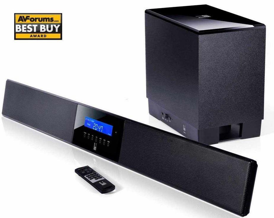 Kot Roth Audio BAR 3 Hochleistungs Soundbar mit integriertem DSP und kabellosem Subwoofer für 112,95€