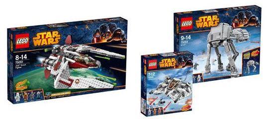 Lego Star Wars 10% auf LEGO Star Wars Artikel bei Galeria Kaufhof + 10% Gutschein   Update!