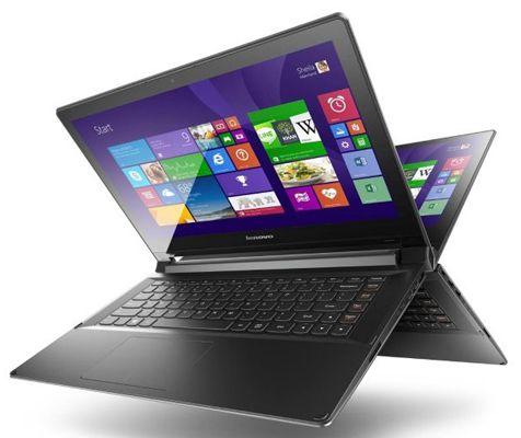 Lenovo IdeaPad Flex 2 14D Lenovo IdeaPad Flex 2 14D   14 Zoll Convertible Notebook mit Windows 8.1 für 349€