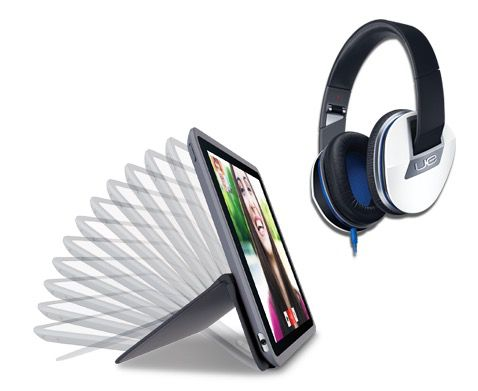 TOP! Logitech AnyAngle Case für iPad mini oder Air 2 + Logitech UE 6000 Over Ear Kopfhörer statt 122€ für 54,99€   Update