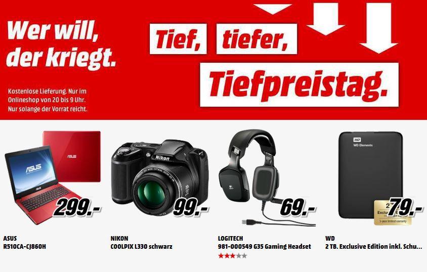 MM tiefpreis2 WD   ext. 2TB 2.5HDD für 79€   De'Longhi Nespresso Citiz EN 166.B für effektiv 69€   MediaMarkt Tiefpreisschicht!
